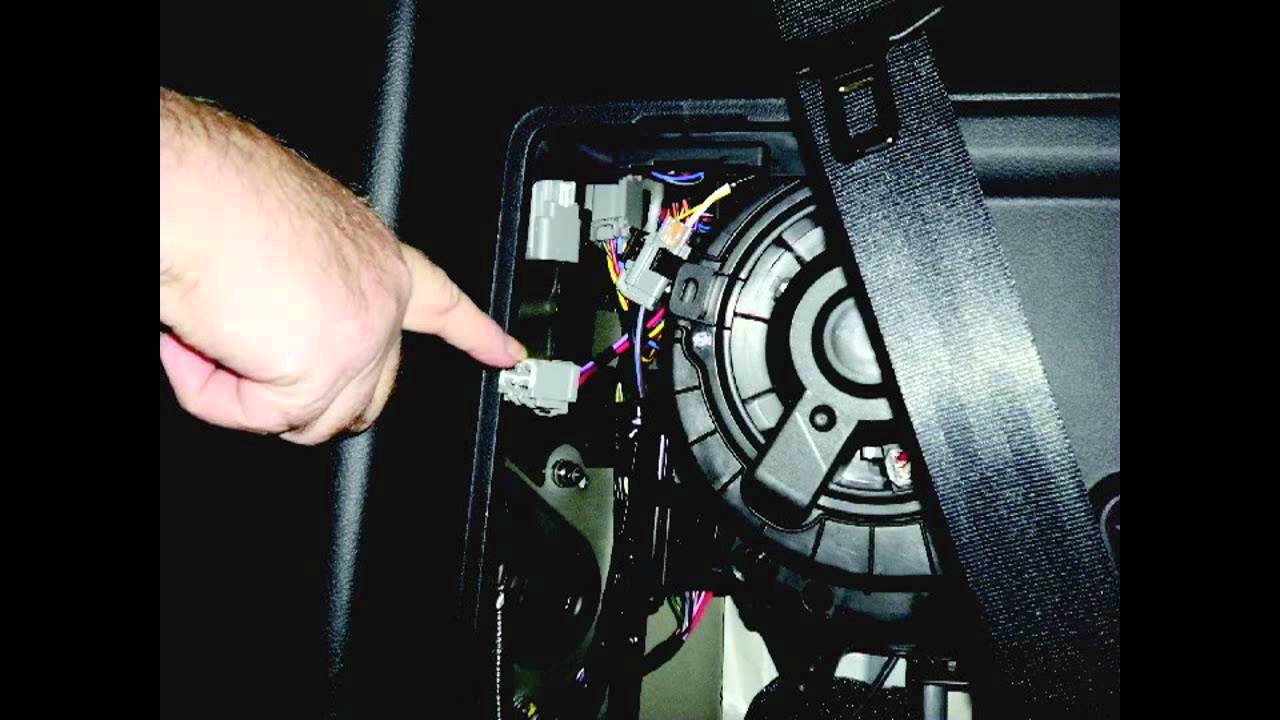 Installing A Trailer Wiring Kit On A Land Rover Lr4 - Youtube - Land Rover Trailer Wiring Diagram