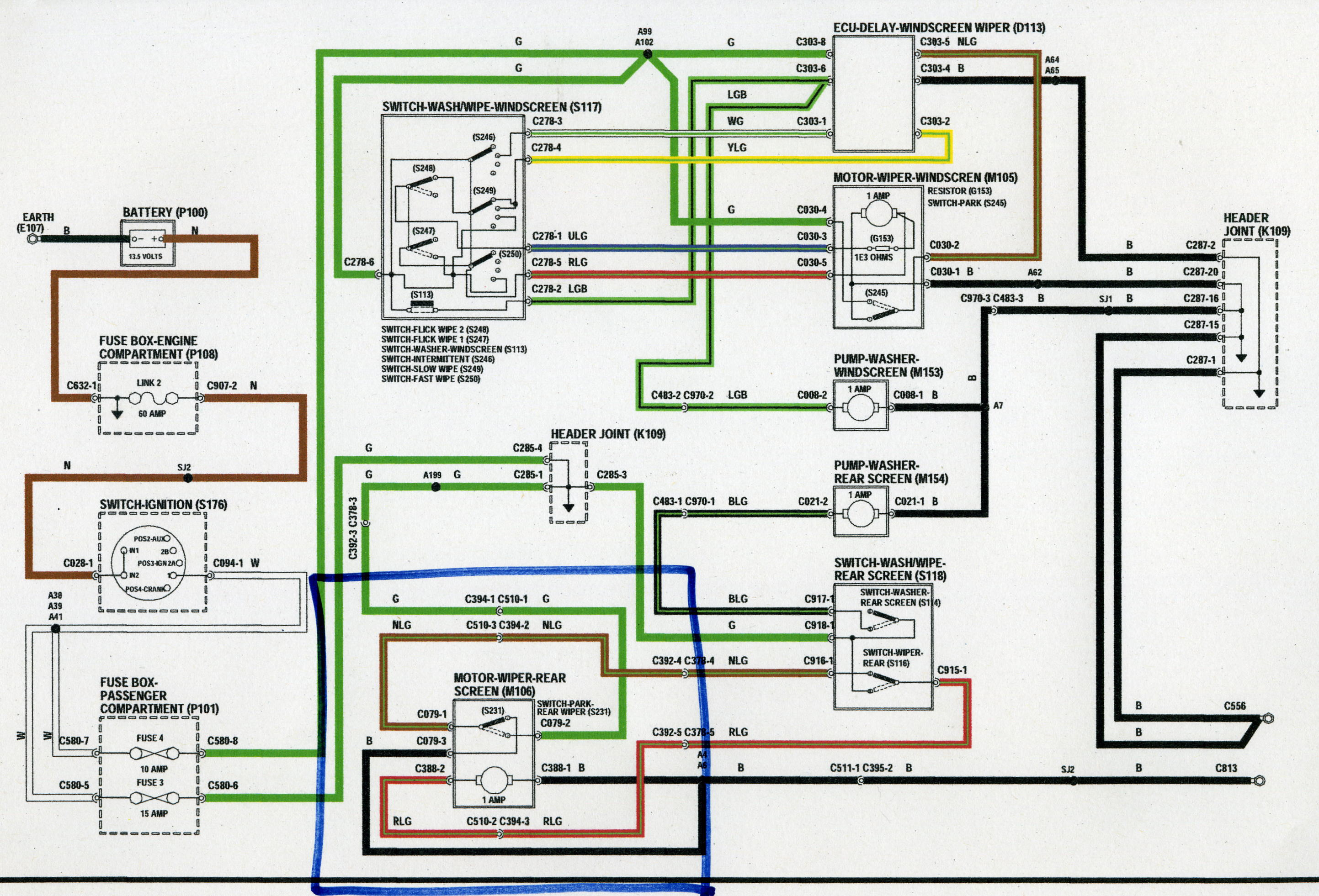 Land Rover Discovery 1 Parts Wiring Diagram