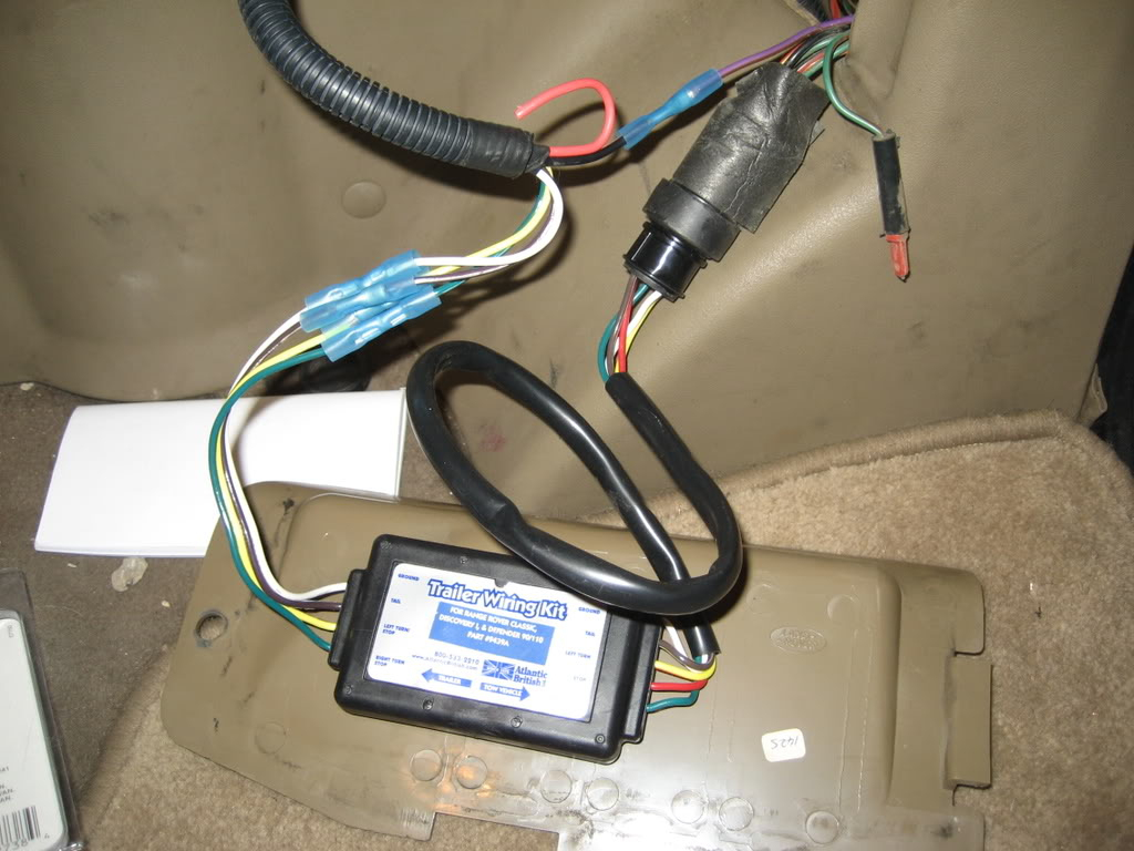 Land Rover Discovery Trailer Wiring Harness | Wiring Diagram - Discovery 2 Trailer Wiring Diagram