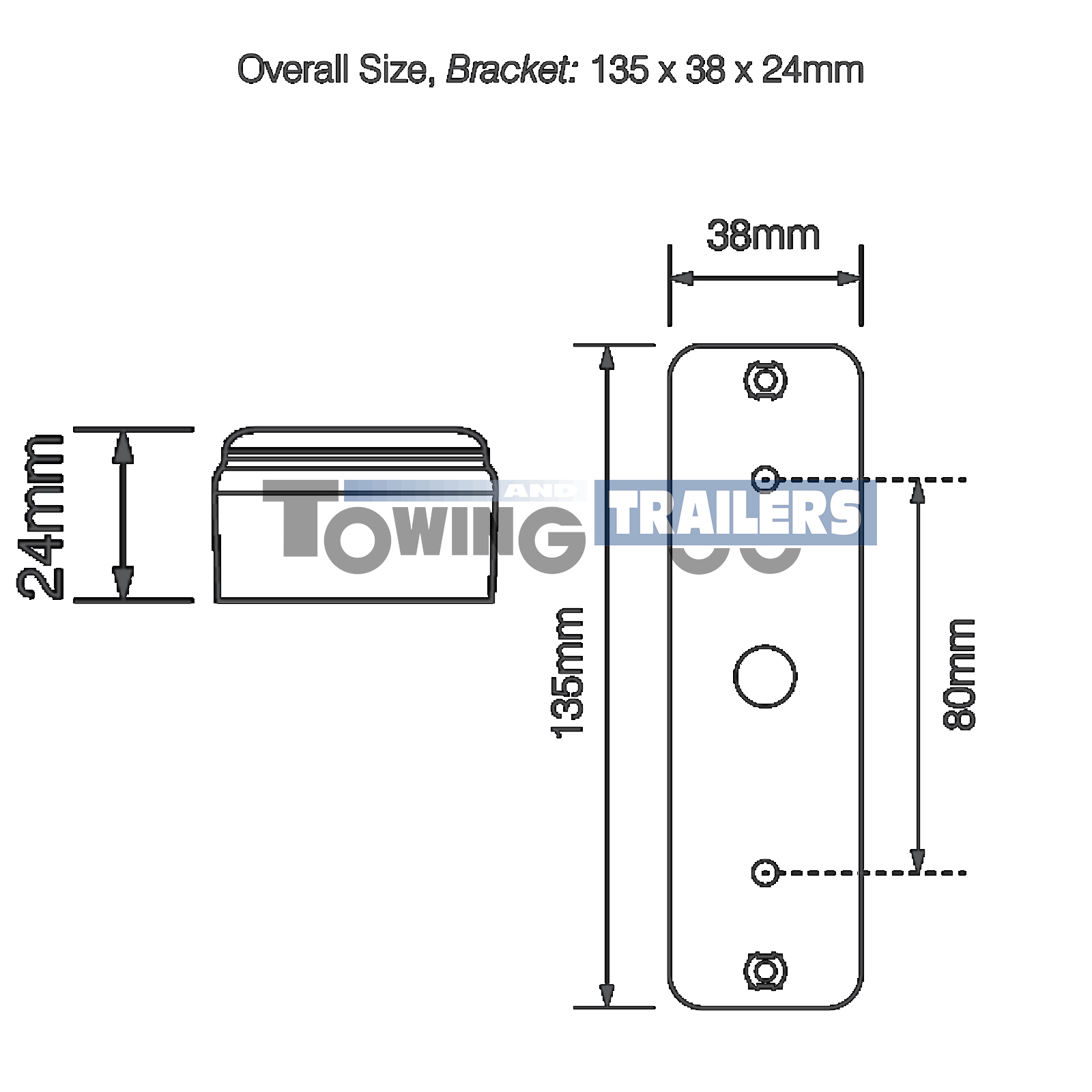 Led Autolamps 135Fme 135Mm Fog Light Surface Mount - Erde Trailer Wiring Diagram