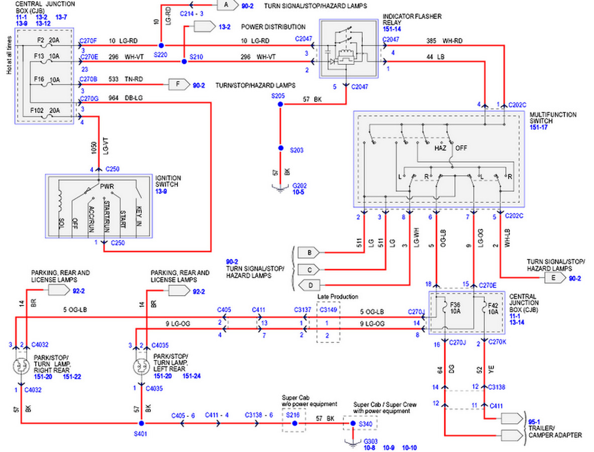 Wiring Diagram For Ford F150 Trailer Lights From Truck ...