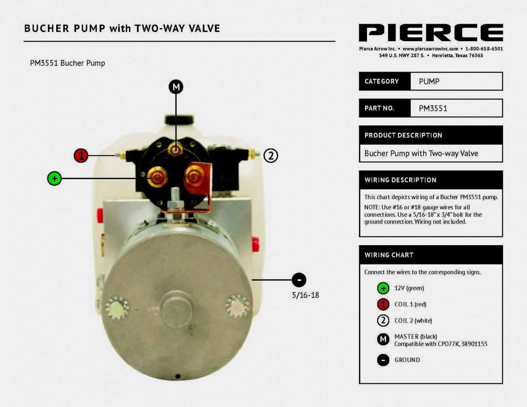 Monarch Hydraulic Pump Wiring Diagram | Wiring Diagram - Sure Trac Trailer Wiring Diagram