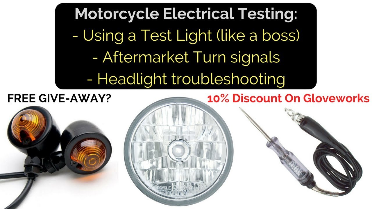 Motorcycle Electrical: Test Lights, Turn Signals And Electrical - 3 Wire Led Trailer Light Wiring Diagram