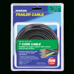 Narva | 5A 2.5Mm 7 Core Trailer Cable (10M)Black; Red; Green; Yellow   5 Core Trailer Cable Wiring Diagram