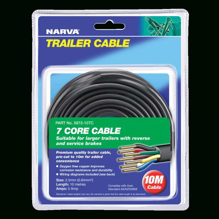 5 Core Trailer Cable Wiring Diagram