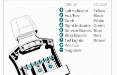 New 4 Prong Trailer Wiring Diagram Beautiful 7 Pin To Like Plug – Trailer Wiring Diagram For A 7 Pin Plug