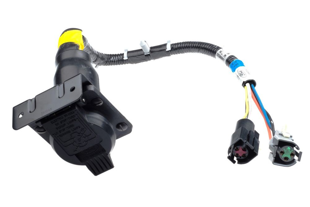 Oem New 7 Pin Trailer Towing Connector Wiring Harness F-Series F6Tz - S&h Trailer Wiring Diagram