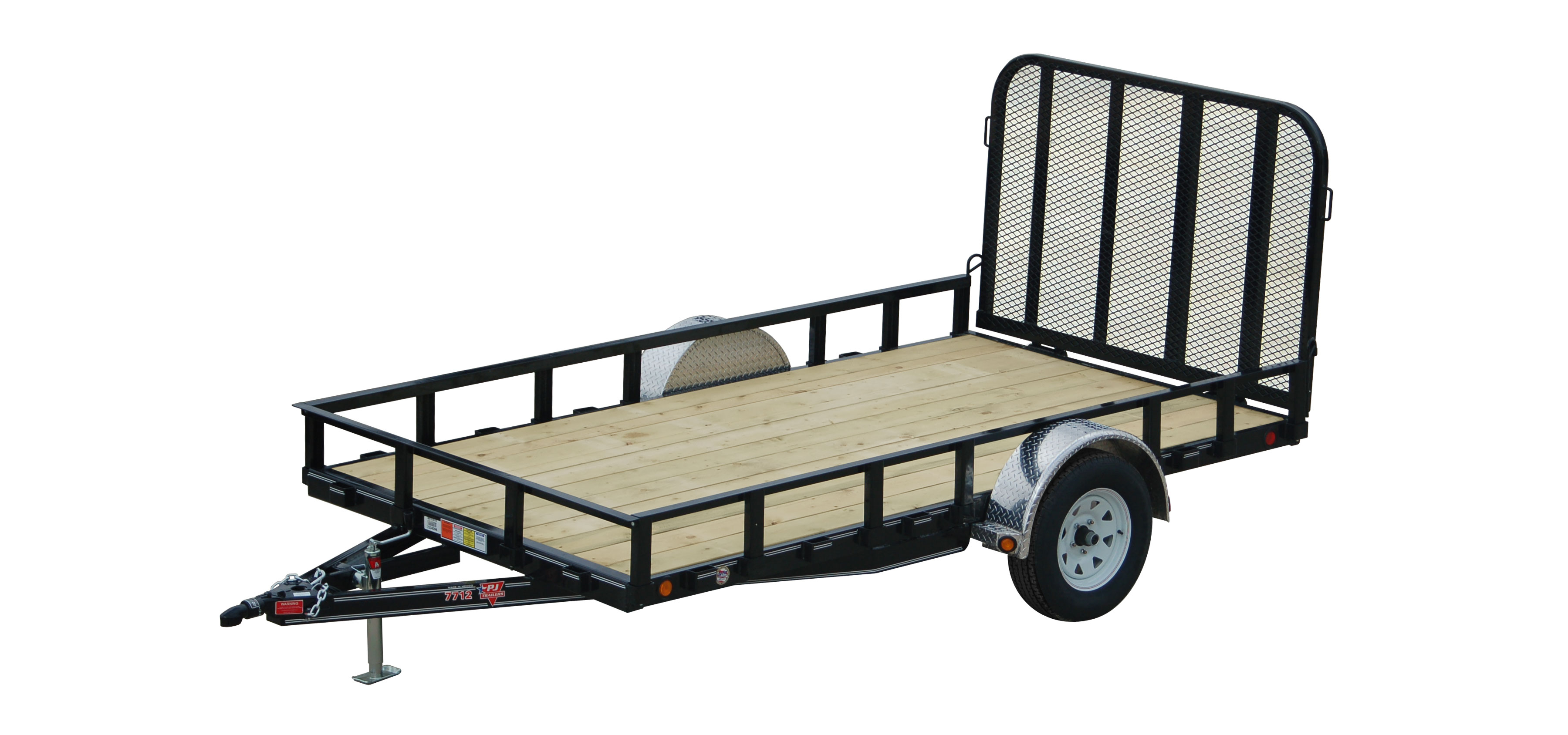 "Pj Trailers 77"" Channel Utility (U7) For Sale In South Londonderry - Pj Dump Trailer Wiring Diagram"