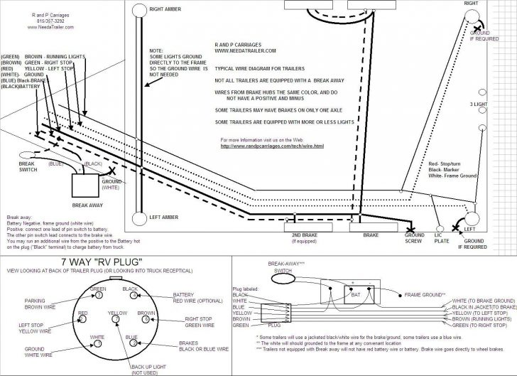 7 Pin Car Trailer Wiring Diagram