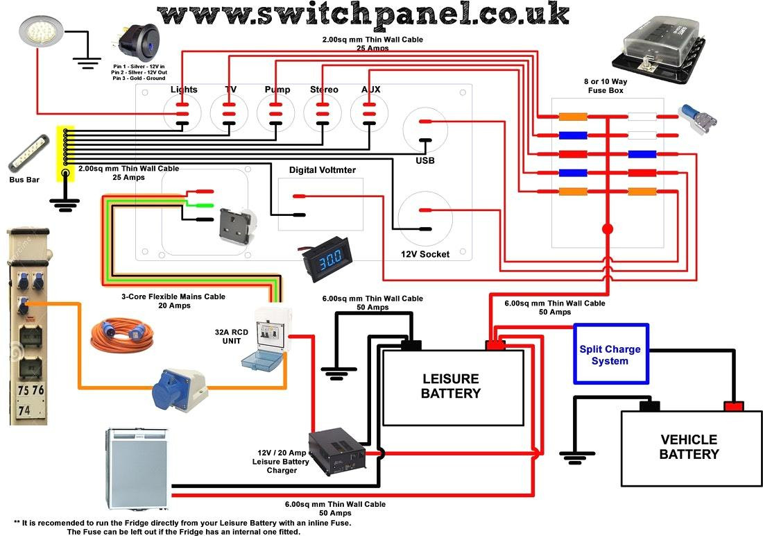 Pop Up Camper Battery Wiring Diagram | Wiring Library - Camper Trailer Wiring Diagram