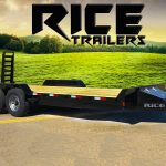 Rice Trailers Fully Powder Coated Built In Usa   Quality Cargo Trailer Wiring Diagram