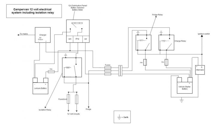12 Volt Camper Trailer Wiring Diagram