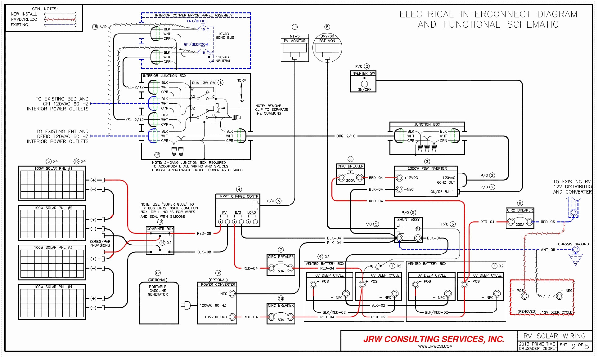 Rv Monitor Panel Wiring Diagram | Manual E-Books - Travel Trailer Wiring Diagram