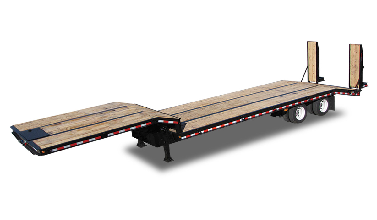 Standard Drop Deck Flatbed Trailer For Salekaufman Trailers - Kaufman Gooseneck Trailer Wiring Diagram