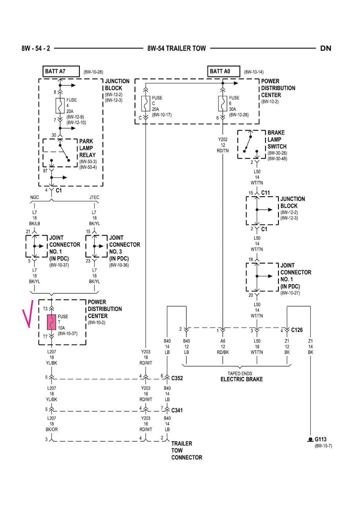Dodge Caravan Trailer Wiring Diagram
