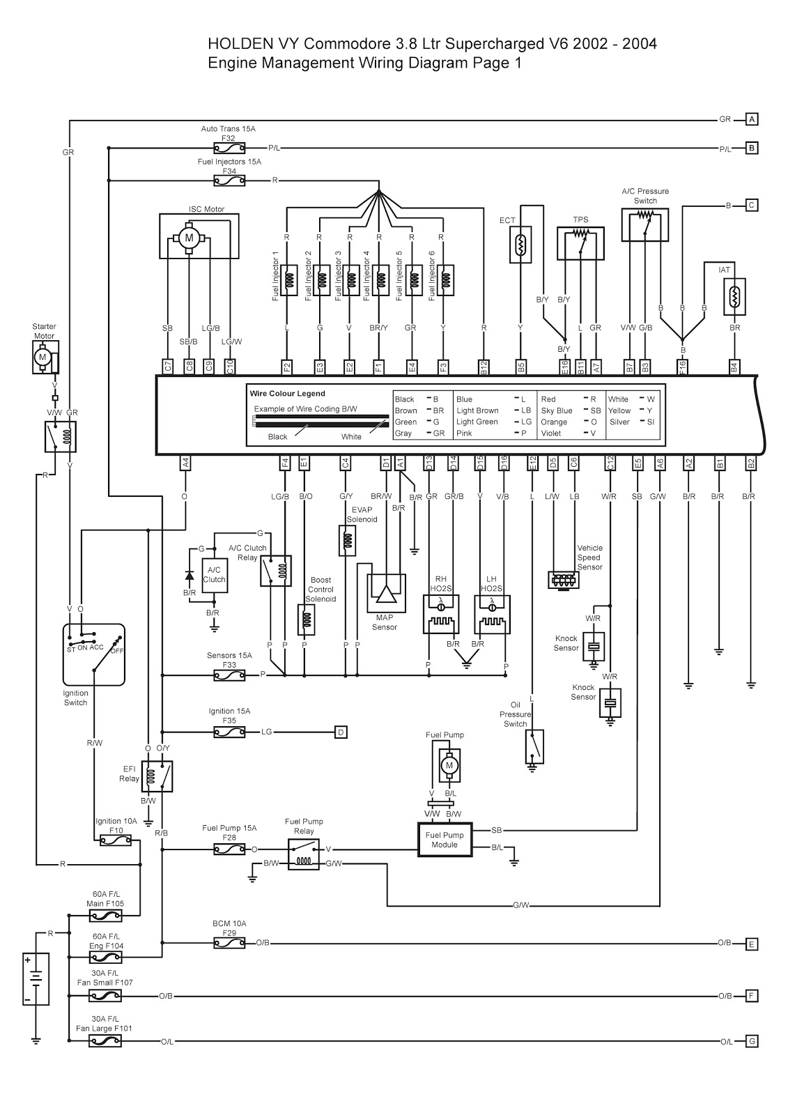 Stereo Wiring Diagram Vy Commodore | Best Wiring Library - Vy Commodore Trailer Wiring Diagram