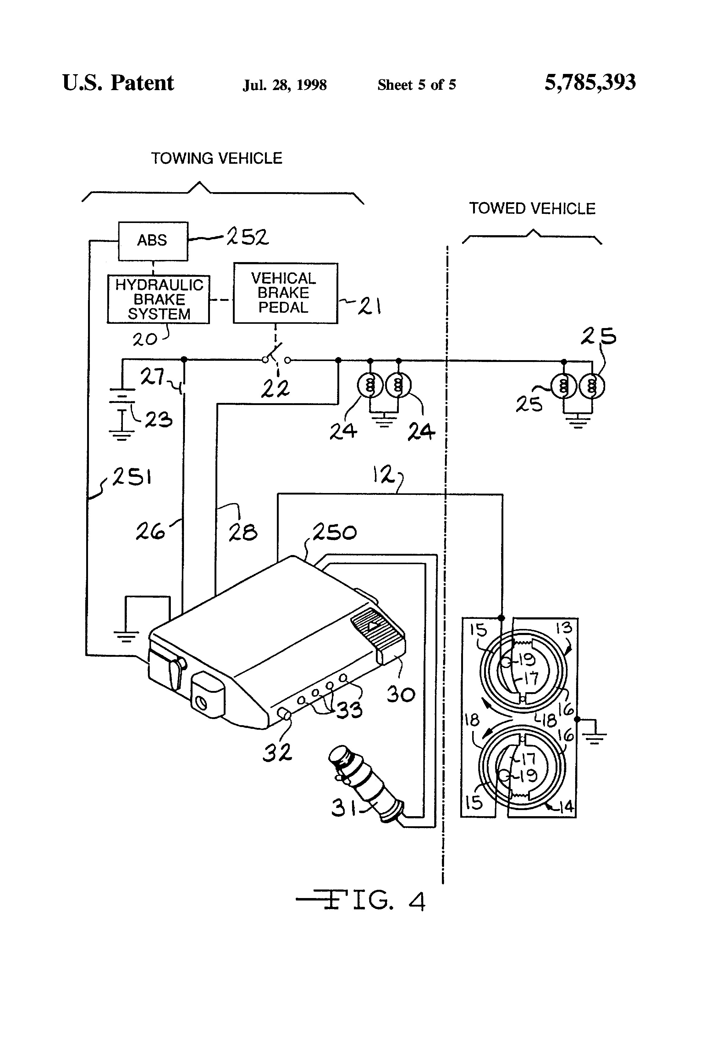 Tekonsha P3 Prodigy Electric Trailer Brake Controller Wiring Diagram - Wiring Electric Trailer Brakes Diagram