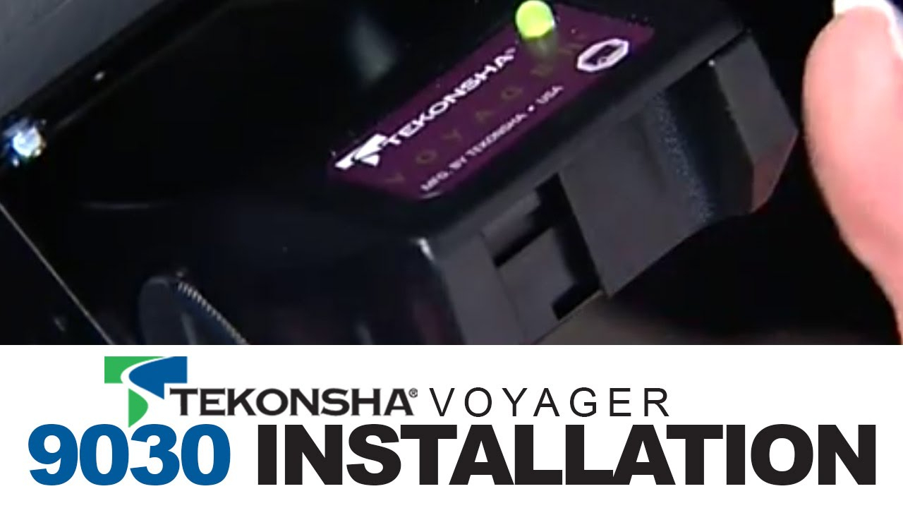 Tekonsha Voyager 9030 Brake Controller Installation - Youtube - Voyager Trailer Brake Controller Wiring Diagram