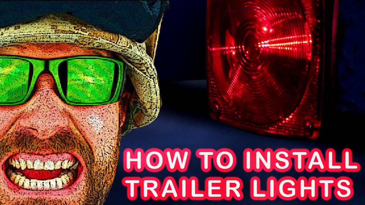 The Easy And Right Way To Install The Harbor Freight Deluxe 12 Volt - Trailer Light Kit Wiring Diagram