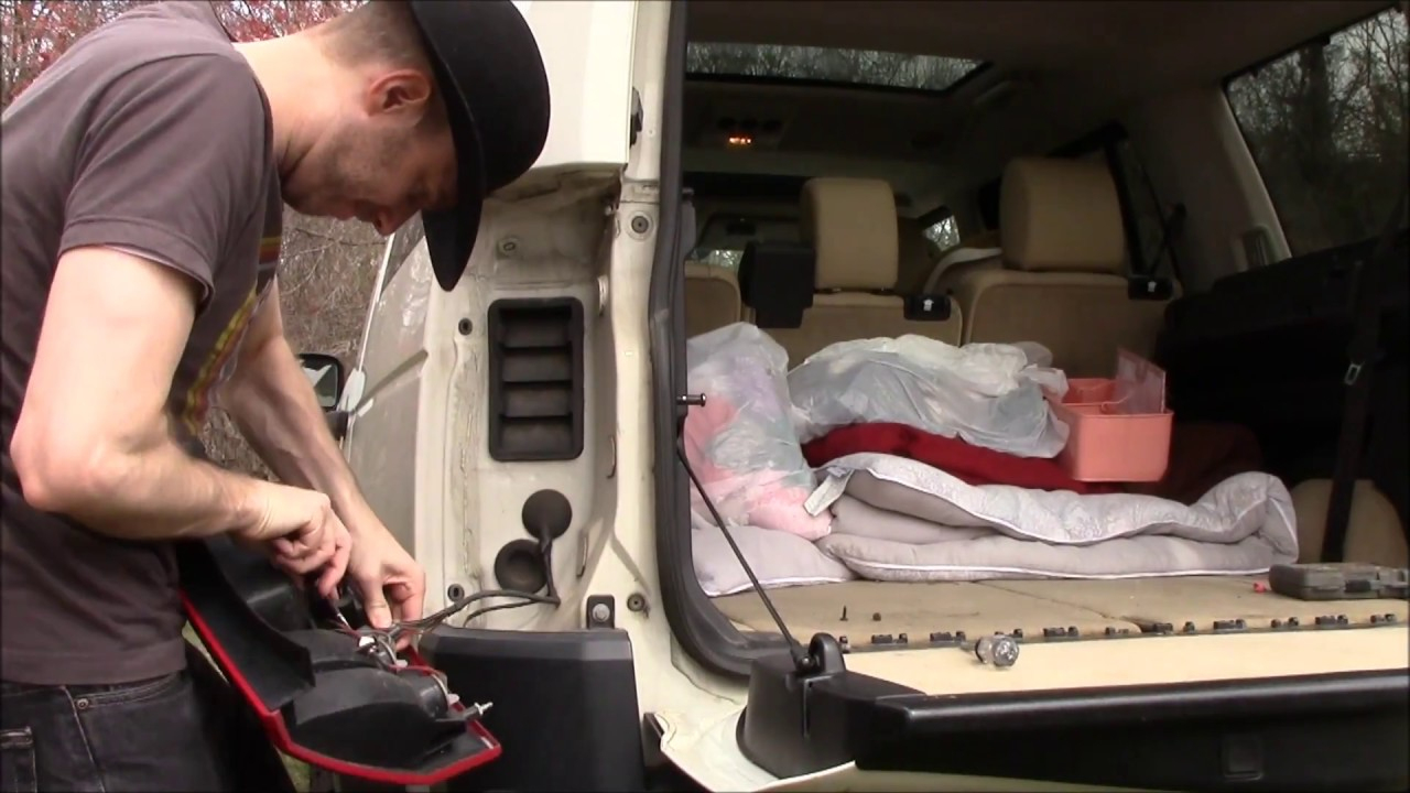 Tow Trailer Harness Install On Land Rover Lr3 - Youtube - Lr3 Trailer Wiring Diagram