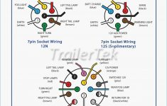 Towbar Fitting Trailertek Of 7 Way Trailer Plug Wiring Diagram To In – Wiring Diagram On 7 Way Trailer Plug