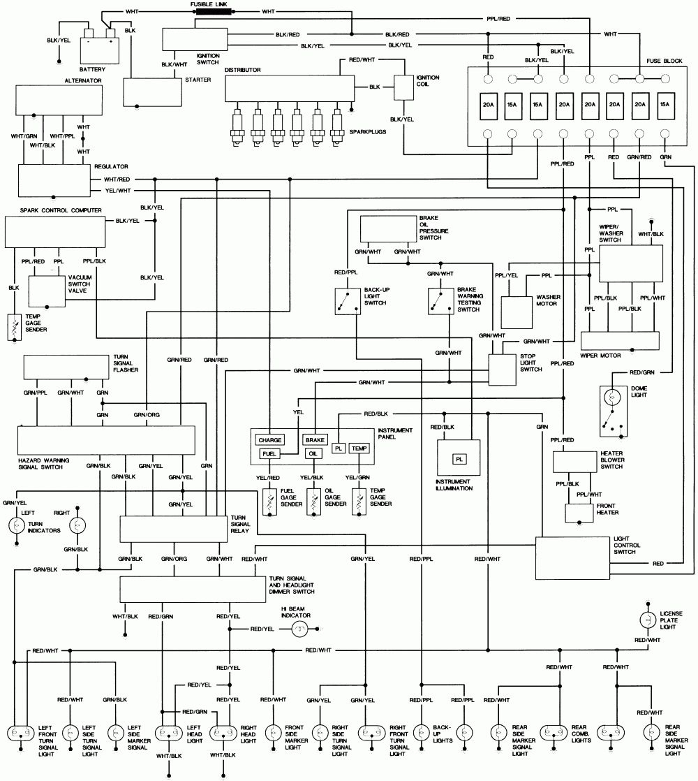 Toyota Coaster Wiring Diagram Schematic | Wiringdiagram - Wiring Diagram For Utility Trailer
