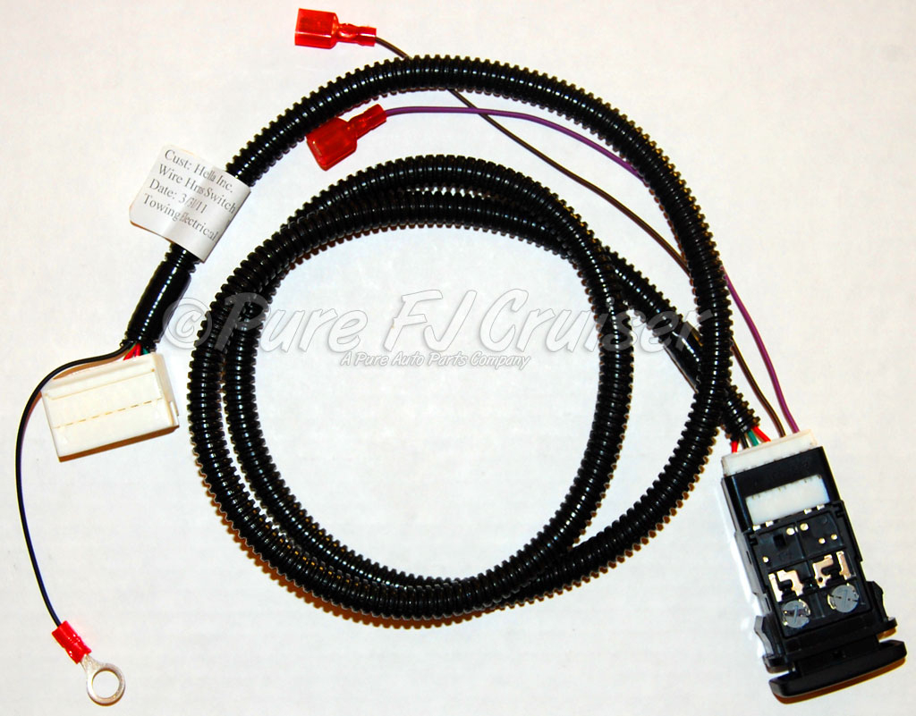 Toyota Wiring Harness Parts - Wiring Data Diagram - Toyota Tundra Trailer Wiring Diagram
