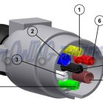 Trailer Electrics   Towing And Trailers Ltd   Trailer Hitch Plug Wiring Diagram