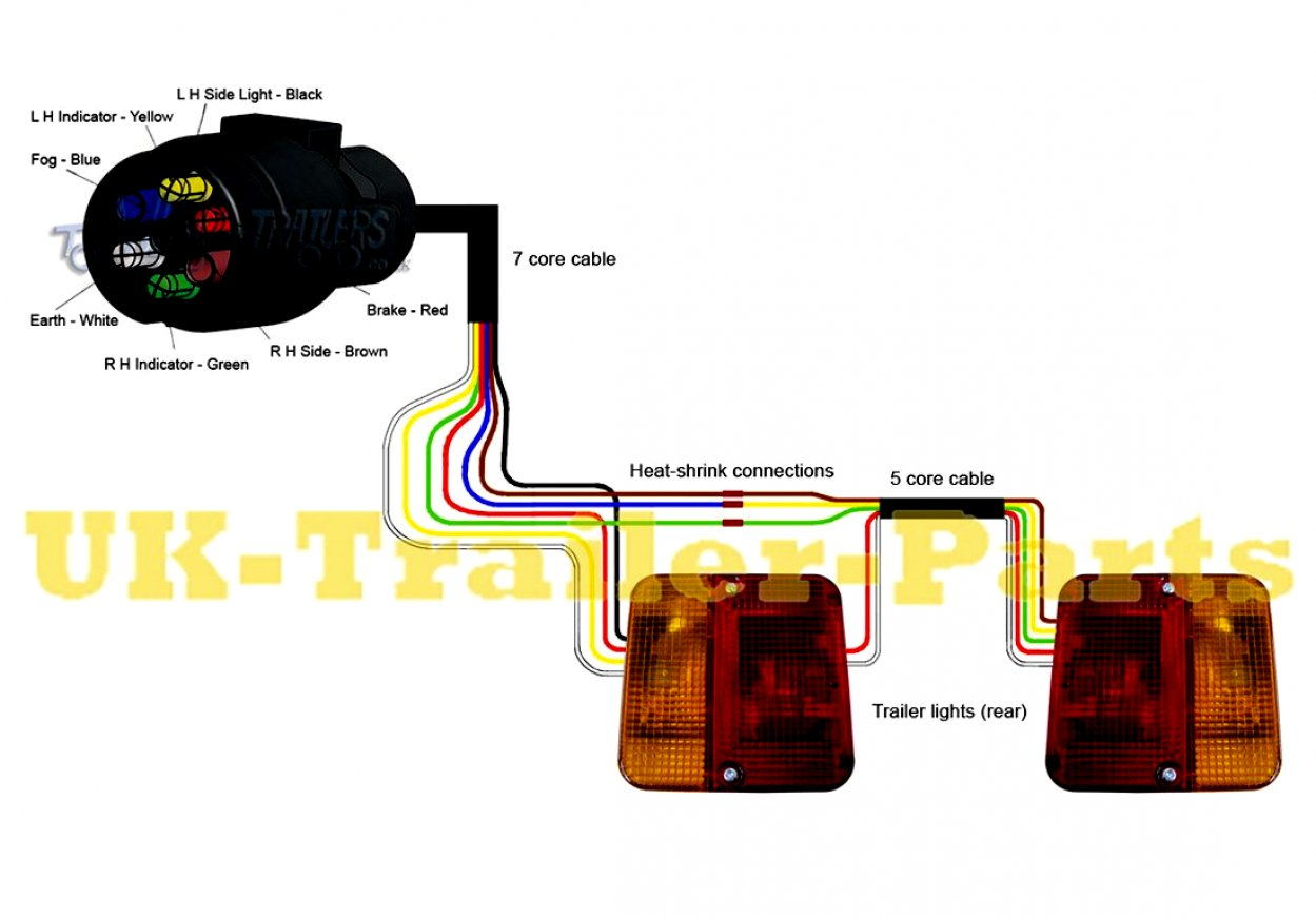 Trailer Light Wiring Diagram Uk - Detailed Wiring Diagram - Trailer Lights Wiring Diagram Uk