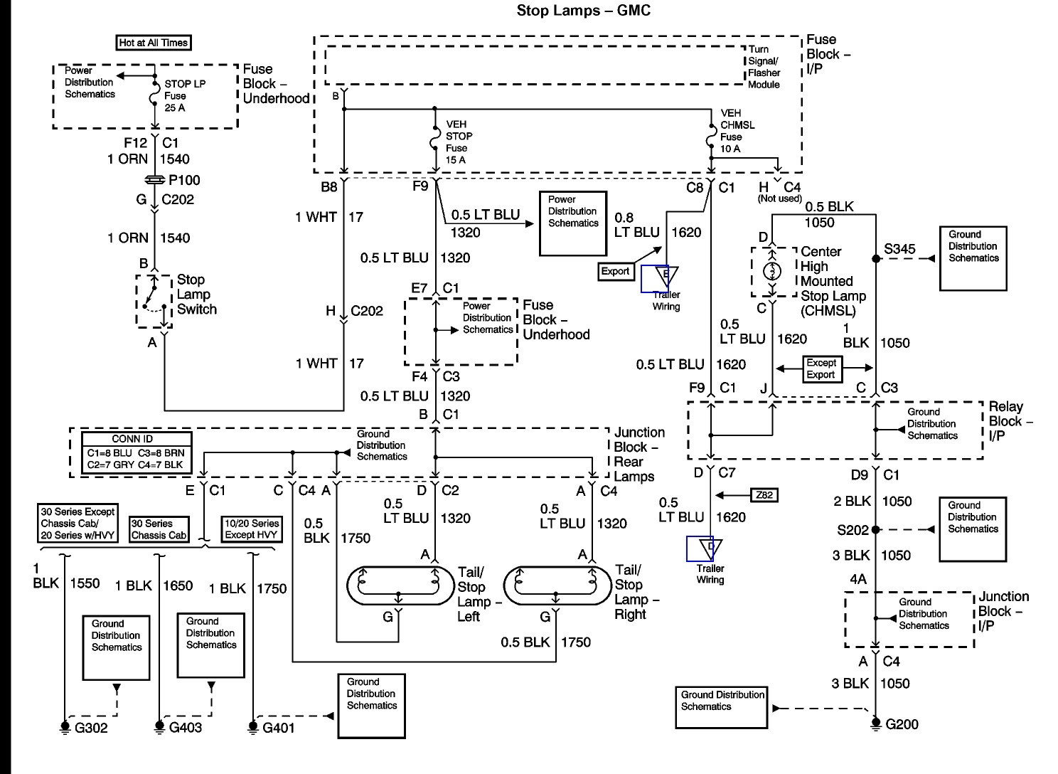 2000 Gmc Sierra Trailer Wiring Diagram | Trailer Wiring ...