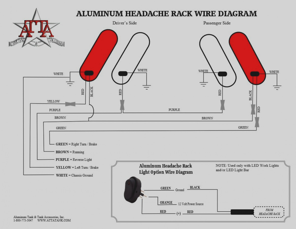 Trailer Tail Light Wiring Diagram - Wiring Diagram Explained - Wiring Diagram Trailer Lights