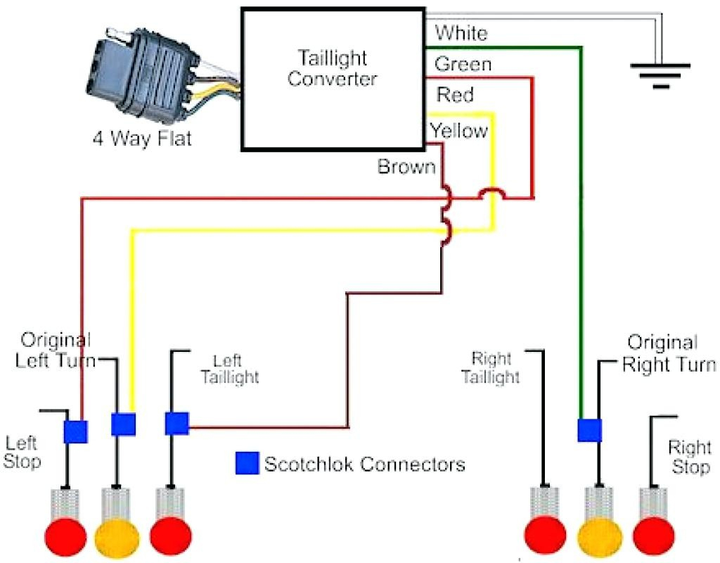 Trailer Wiring Diagram 5 Pin Plug | Manual E-Books - 4 Pin Trailer Wiring Diagram Flat