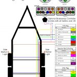 Trailer Wiring Diagram 7 Pin Flat - Great Installation Of Wiring - Six Pin Trailer Wiring Diagram