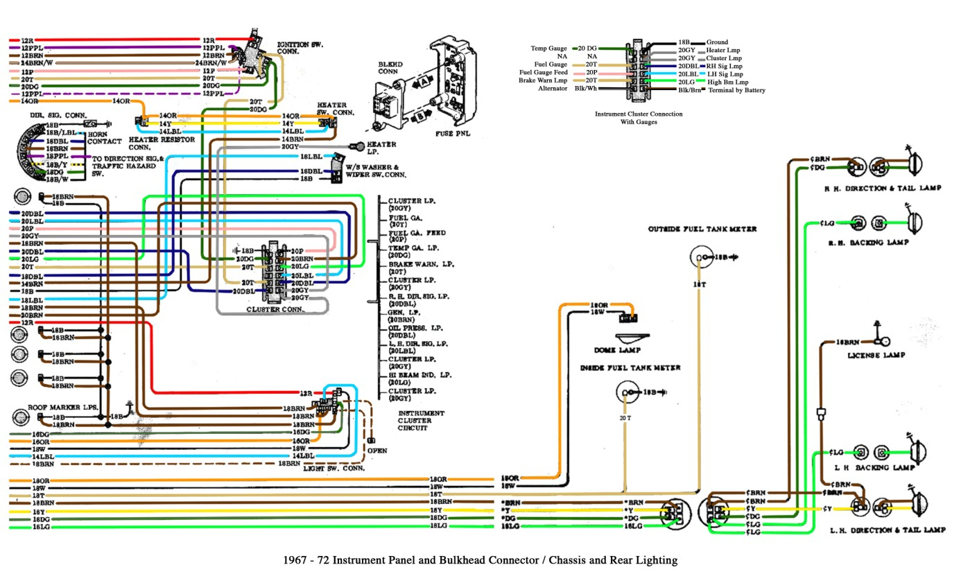 Trailer Wiring Gm Truck - Wiring Diagrams Click - Gm Trailer Wiring Diagram