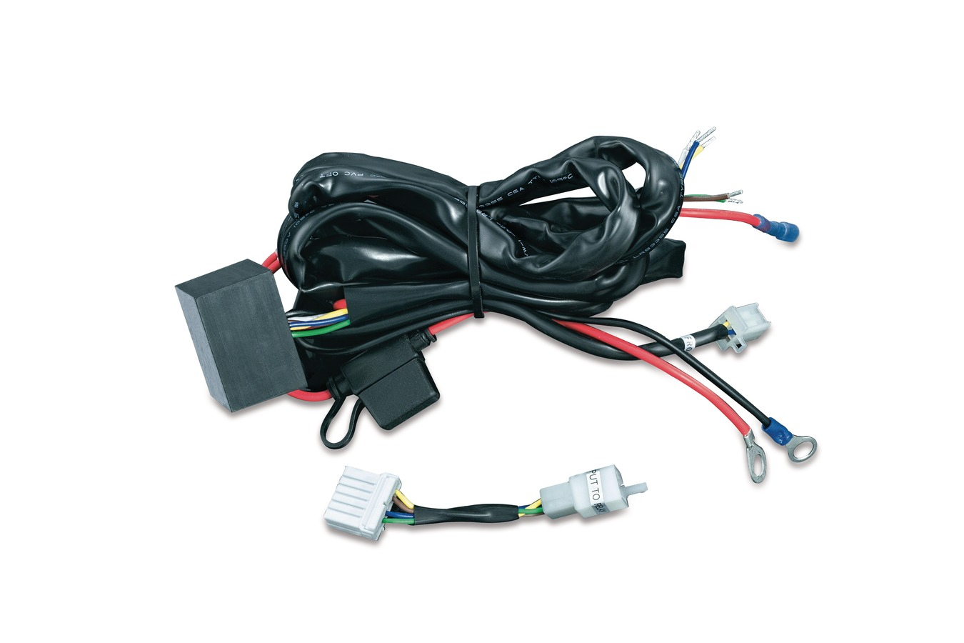 Trailer Wiring Harnesses | Trailer Hitches & Wiring | Touring - 5 Wire Motorcycle Trailer Wiring Diagram