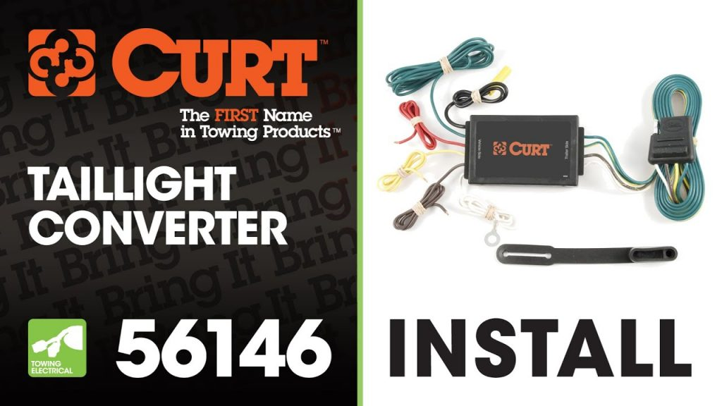 Trailer Wiring Install Curt 56146 Taillight Converter Manual Guide