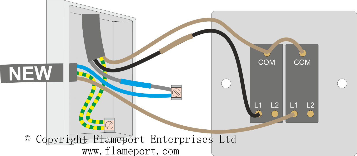 Two Gang Switch Wiring Diagram | Wiring Library - Trailer Board Wiring Diagram Uk