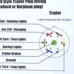 Universal 7 Wire Trailer Plug Wiring Diagram | Wiring Library   Wiring Diagram For A 7 Pin Trailer Plug