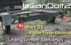 Utility Trailer 03 – 4 Pin Trailer Wiring And Diagram – Youtube – 01 Silverado Trailer Wiring Diagram