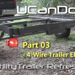 Utility Trailer 03   4 Pin Trailer Wiring And Diagram   Youtube   Trailer Light Wiring Diagram 4 Pin