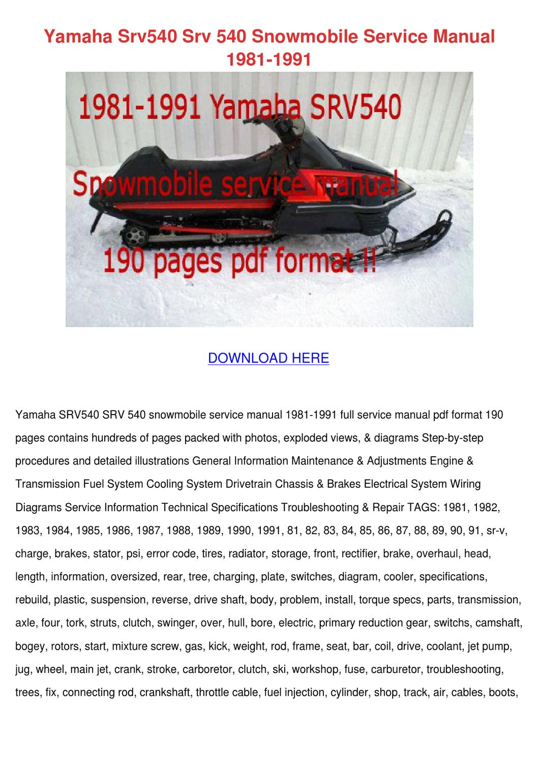 Snowmobile Trailer Wiring Diagram