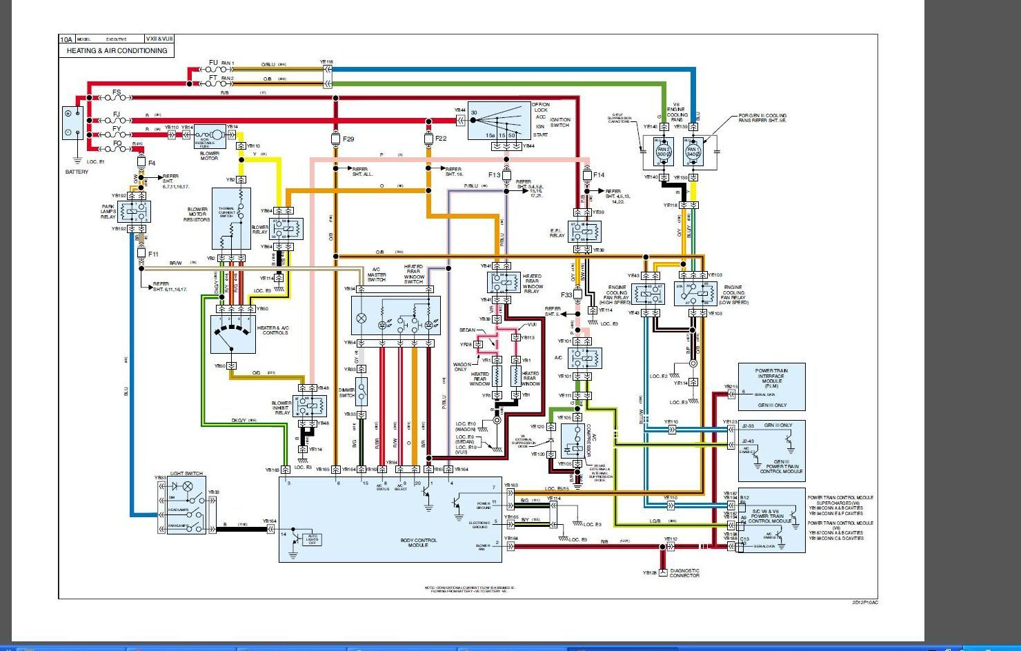 Vt Commodore Trailer Wiring Diagram