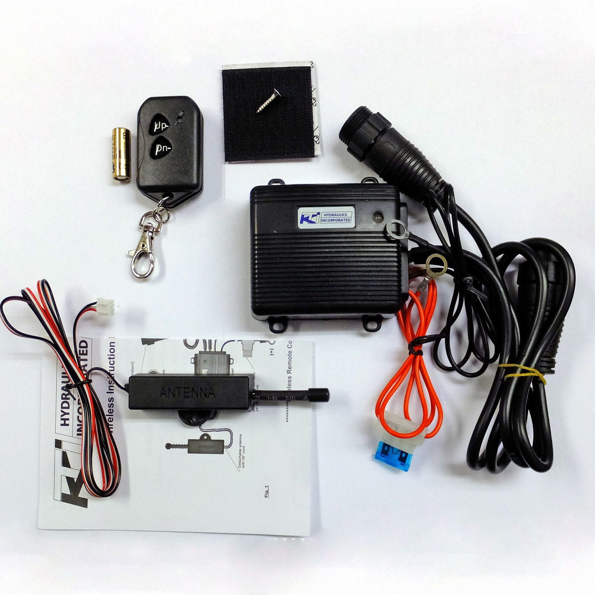 Wireless Dump Trailer Remote Kit - Kti Easy Install | Trailer - Dump Trailer Wireless Remote Wiring Diagram