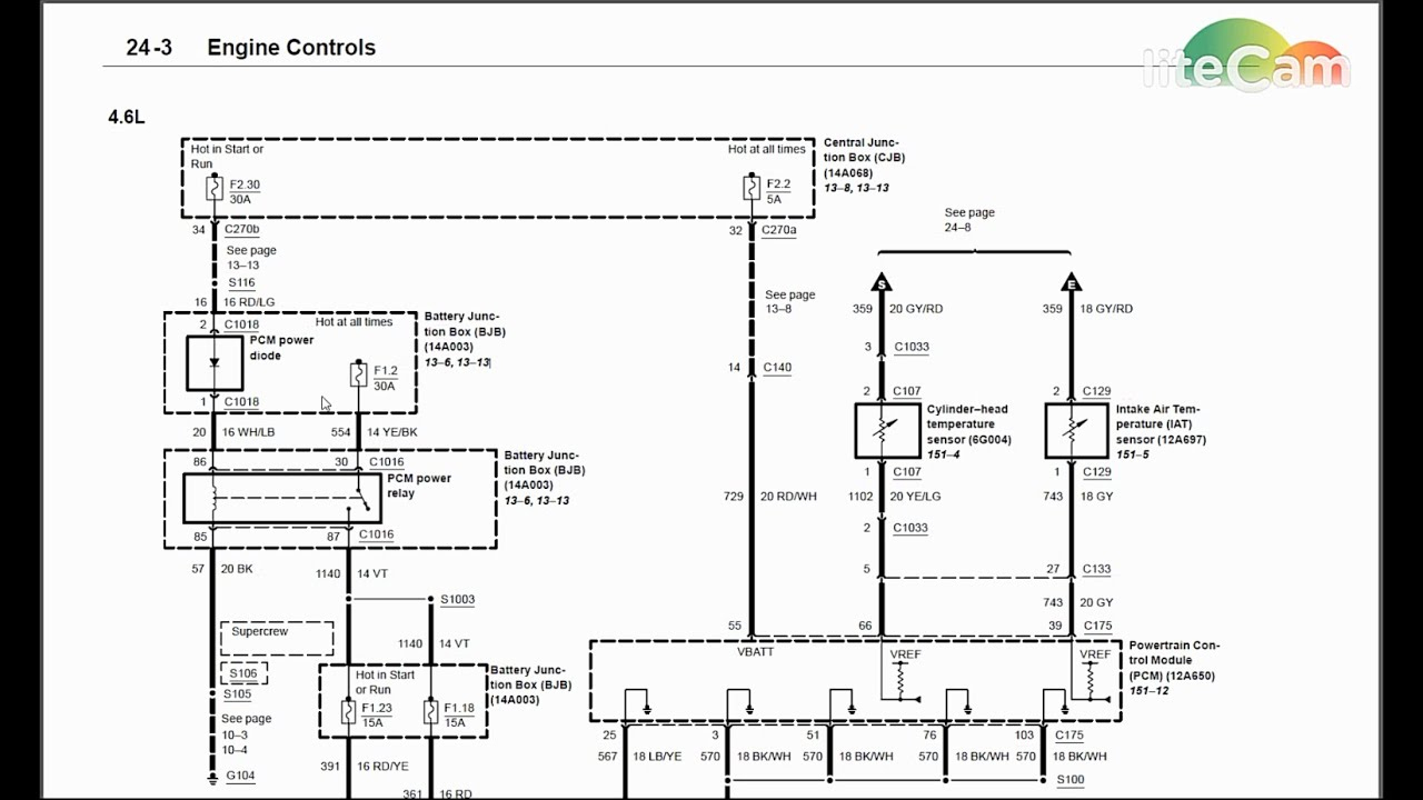 Wiring Diagram Diagnostics #1: 2003 Ford F-150 No Start Theft Light - 2010 Ford F150 Trailer Wiring Harness Diagram