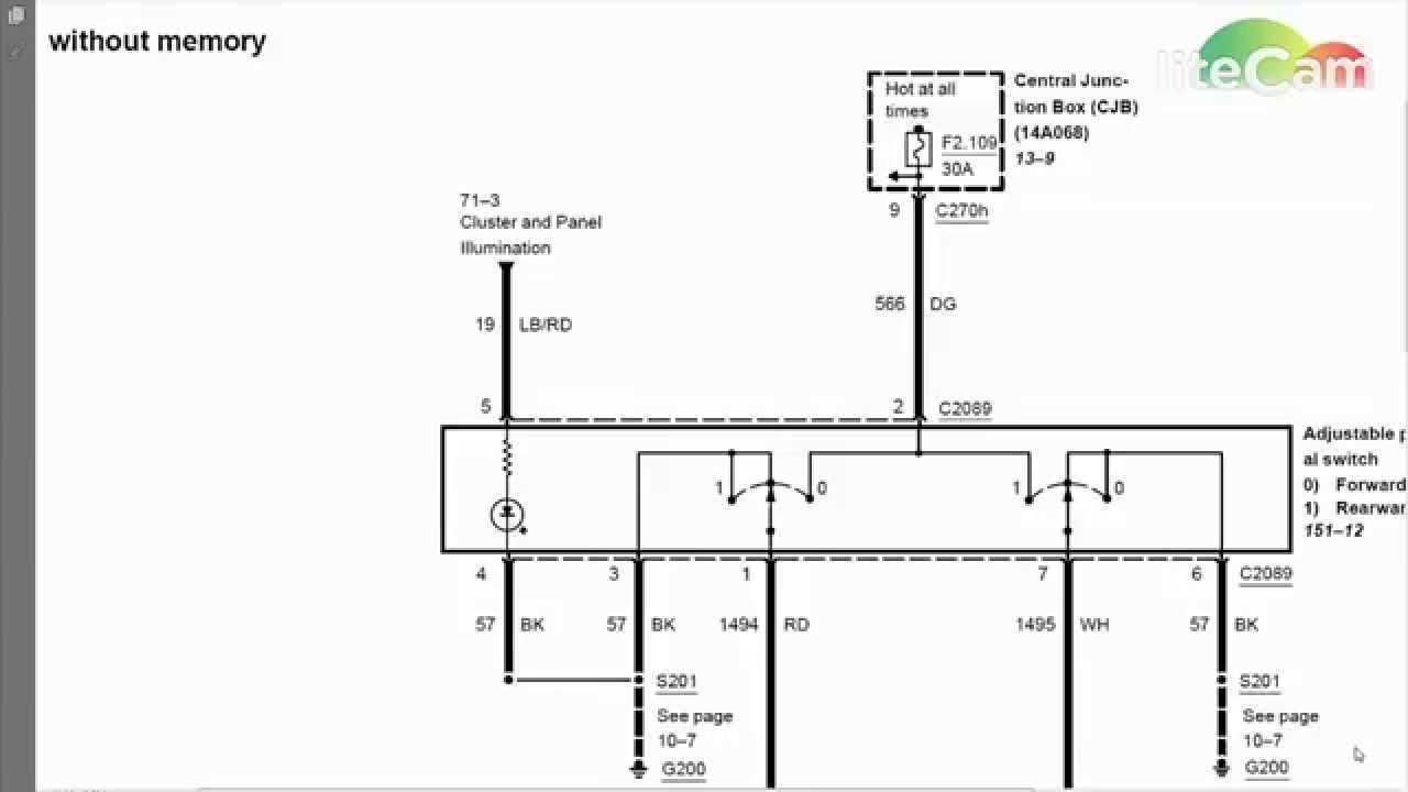 Wiring Diagram For 2007 Ford Expedition - Wiring Diagram Data - Ford Expedition Trailer Wiring Diagram