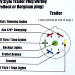 Wiring Diagram For 7 Prong Trailer Plug   Data Wiring Diagram Schematic   6 Pin Round Trailer Plug Wiring Diagram