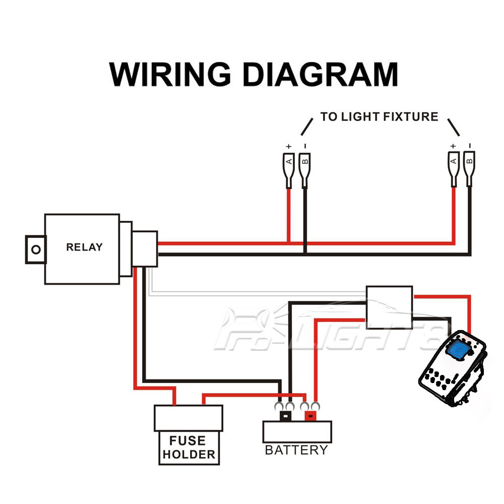 Wiring Diagram For A Led Light Bar - Wiring Diagrams Hubs - Led Wiring Diagram For Trailer Lights