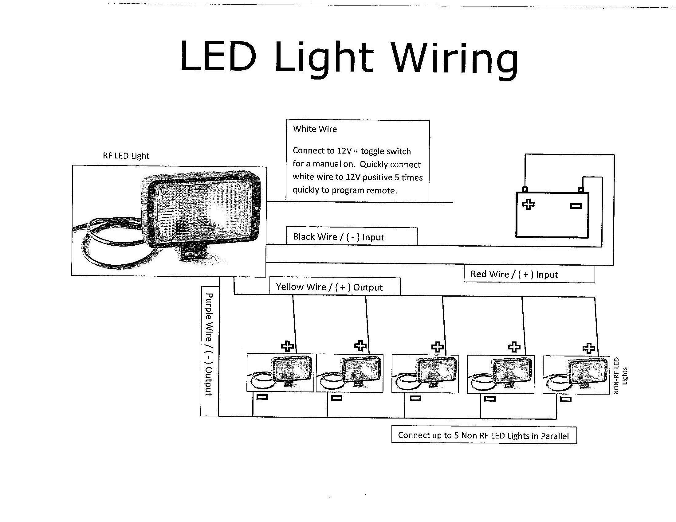 Wiring Diagram For Multiple Lights One Switch Fresh Awesome How To - Trailer Wiring Diagram Led Lights