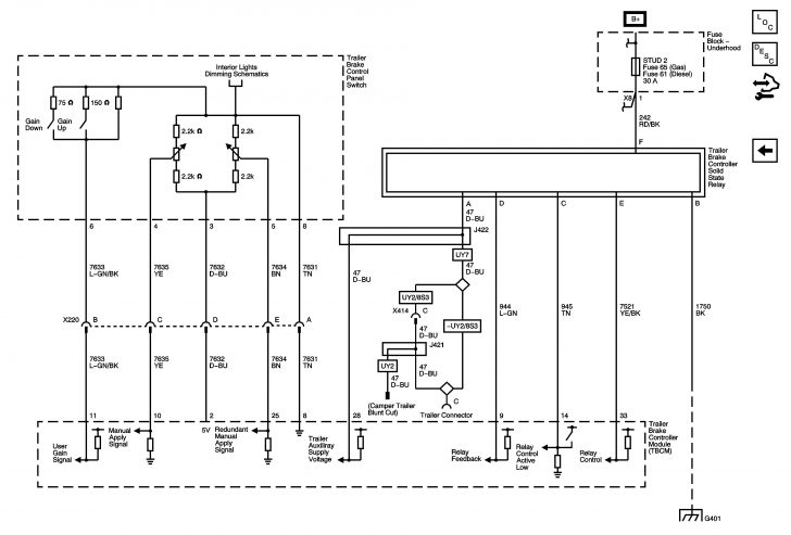 Trailer Wiring Diagram Electric Brakes