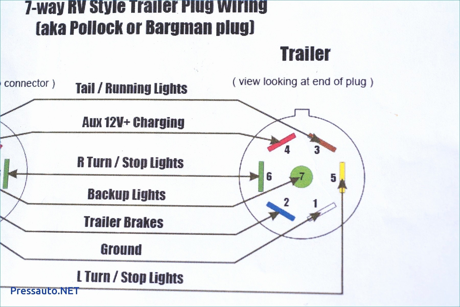 Wiring Diagram For Trailer Lights 7 Way Recent Wiring Diagram For - Trailer Wiring Diagram Led Lights